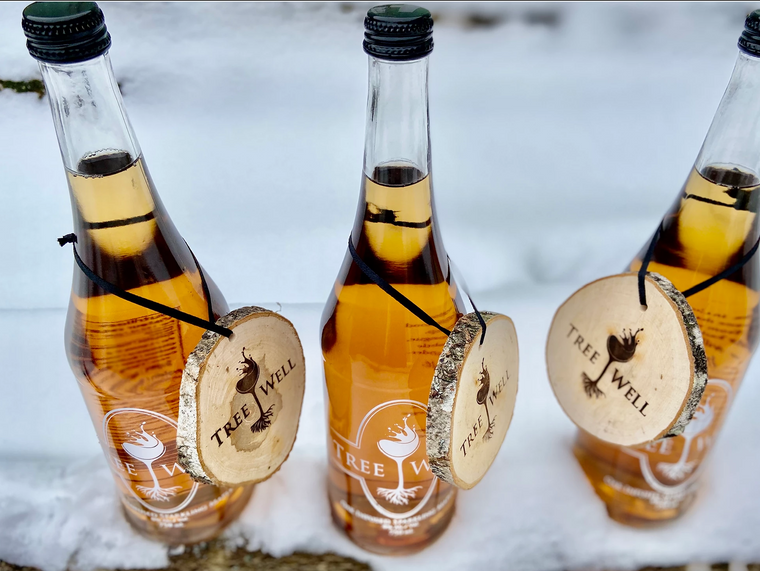 Treewell Oak Infused Sparkling Maple Beverage - Non Alcoholic
