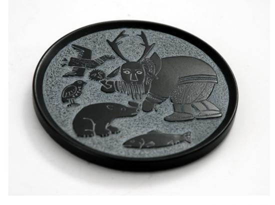 Set of Four Indigenous Design Coasters (Judges Gifts)