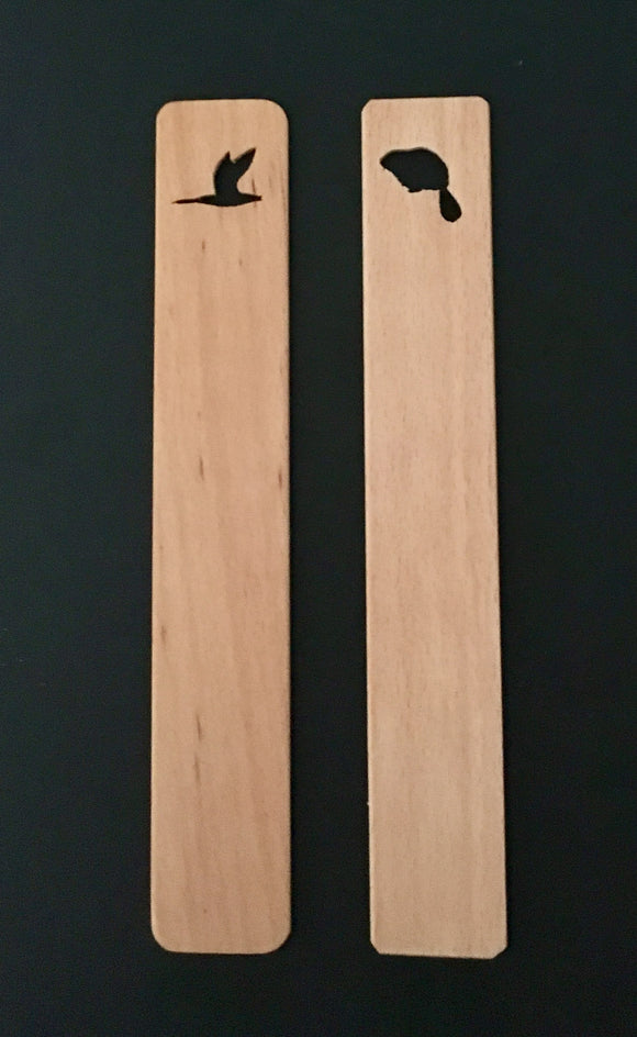 Logo Branded Canadian Hardwood Bookmarks