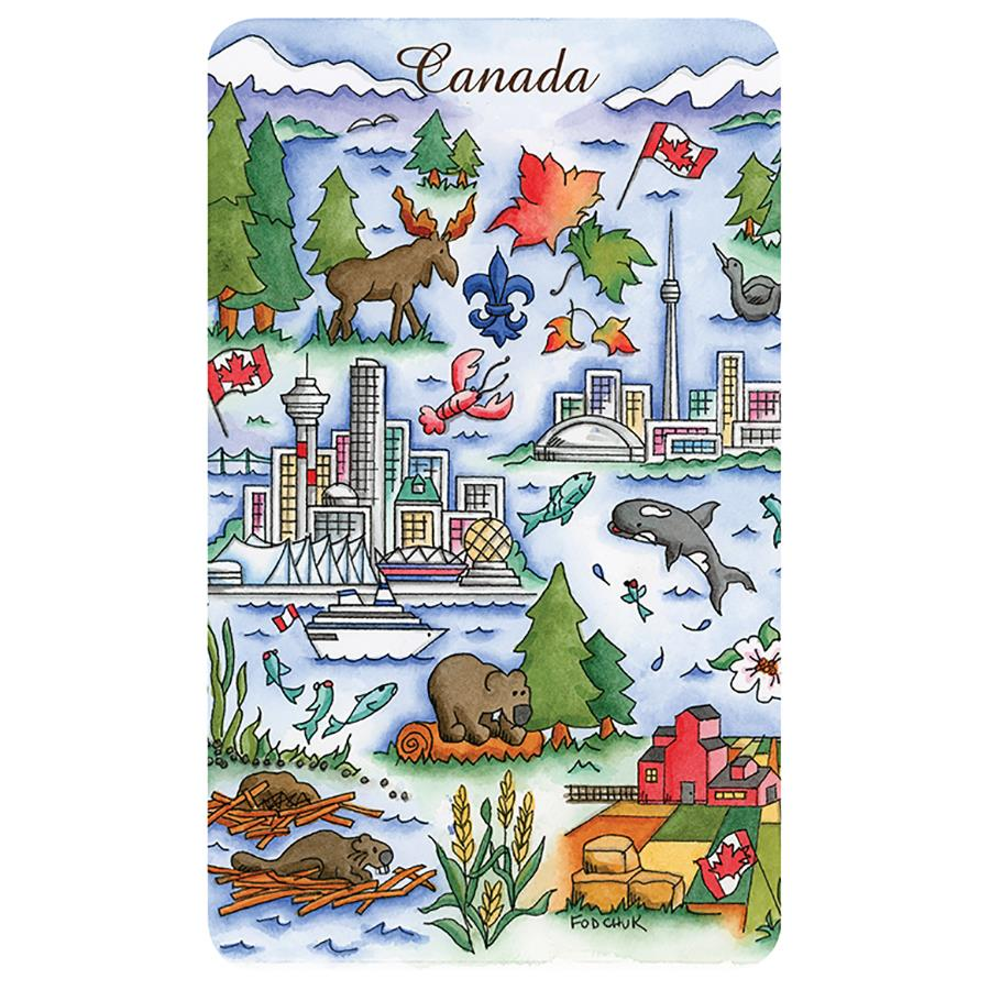Canadian Artist Chocolate Art Tins