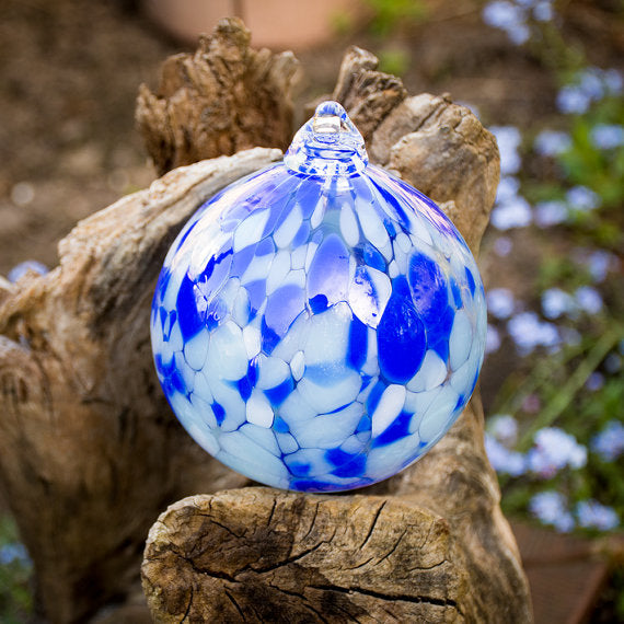 Hand blown Holiday Glass Ornaments