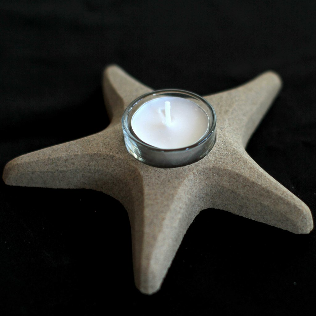Sand Starfish Tealight Holder
