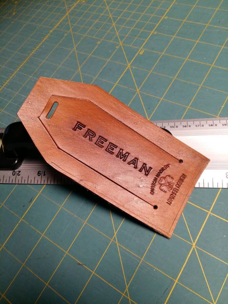 Customized Leather Luggage Tags