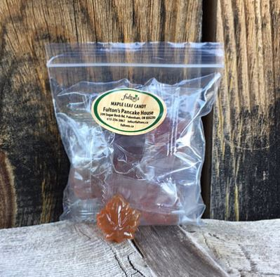 Small bag of Hard Maple Candies