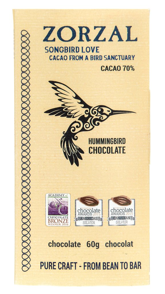 Hummingbird Chocolate Bar