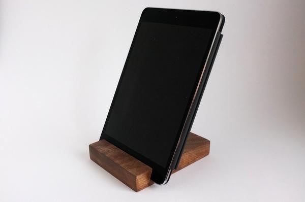 Handmade iPhone/iPad Stand