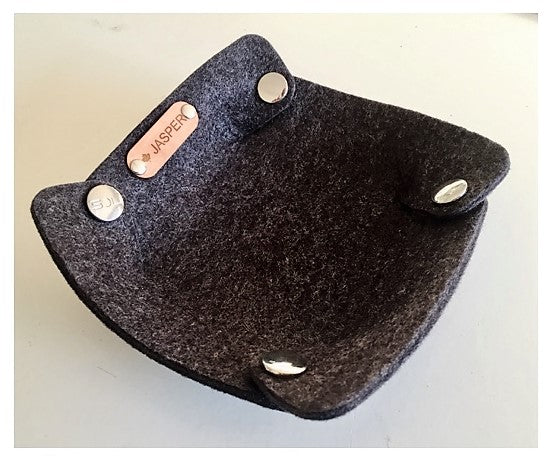 Eco Felt Valet - Catch All Dish