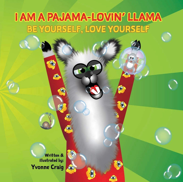 I am a Pyjama-Lovin' Llama Illustrative & Activity Book