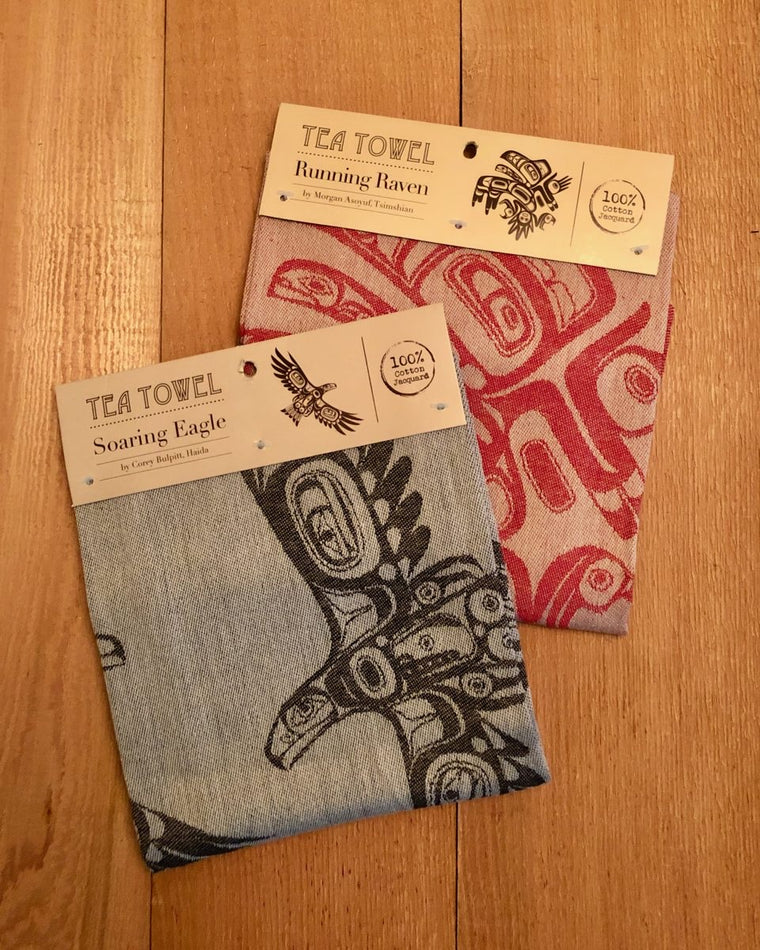 Indigenous Art Design Tea Towels