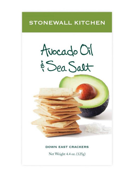 Avocado Oil & Sea Salt Crackers