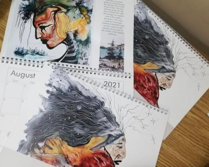 Art for Aid Art 2021 'The Art of Gray' Calendars