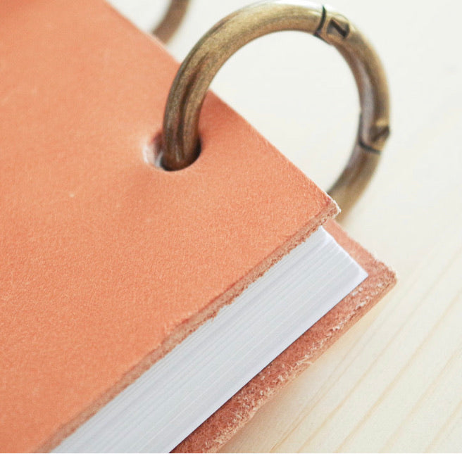 Leather Reporter Notebook
