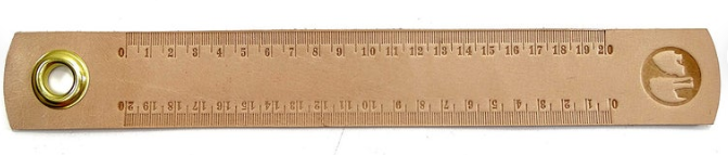 Leather Tape Measure Band