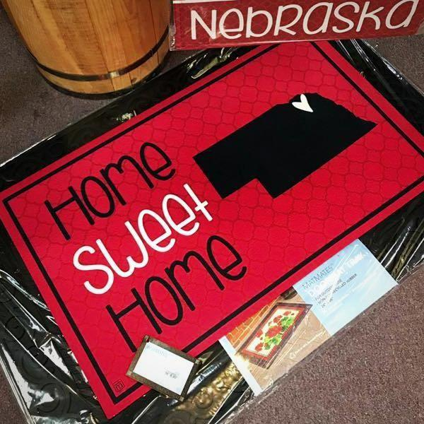 Nebraska Floor Mat