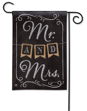 Wedding Day Premium Garden Flag