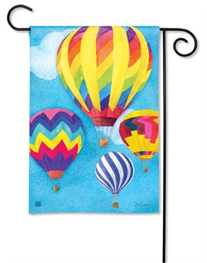 Up and Away Premium Garden Flag