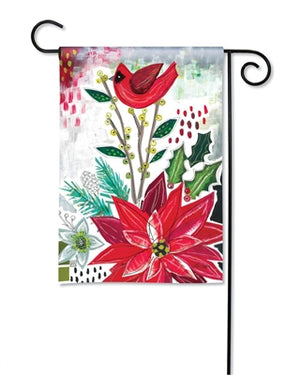 Christmas Snippets Premium Garden Flag