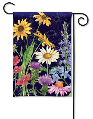 Wildflower Mix Premium Garden Flag