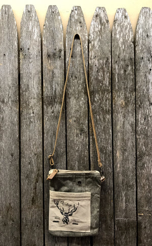 Vintage Deer Cross-body