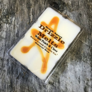 White Peach & Clove Wax Melt
