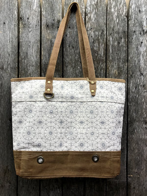 Ferris Wheel Canvas Tote