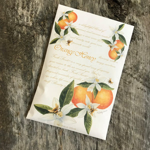 Orange Honey Scented Sachet