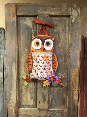 Door Decor - Owl