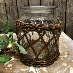 Herbs & Willow Jar Vase