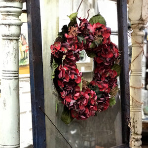 Romantic Hydrangea Wreath
