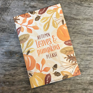 Autumn Leaves Scented Sachet