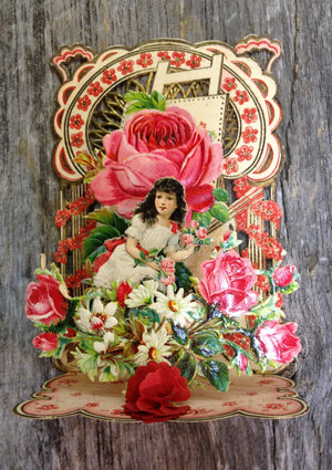 To My Valentine Pop-Up card - vintage #3