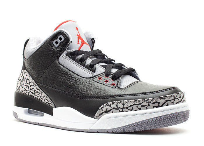 Air Jordan III (3) Retro Grey Black White-77