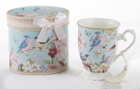 Porcelain tea or coffee cup gift set