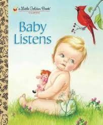 Baby Listens Little Golden Book