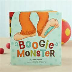 Boogie Monster story book