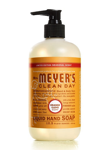 Mrs. Meyers Cleaning Products in Orange Clove