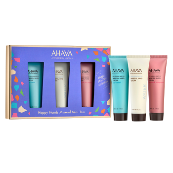 AHAVA Happy Hands Mineral Mini-Trio