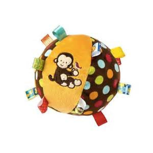 Taggies Dazzle Dots Chime Ball