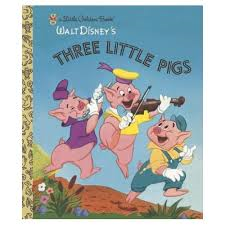 The Three Little Pigs, Little Golden Book