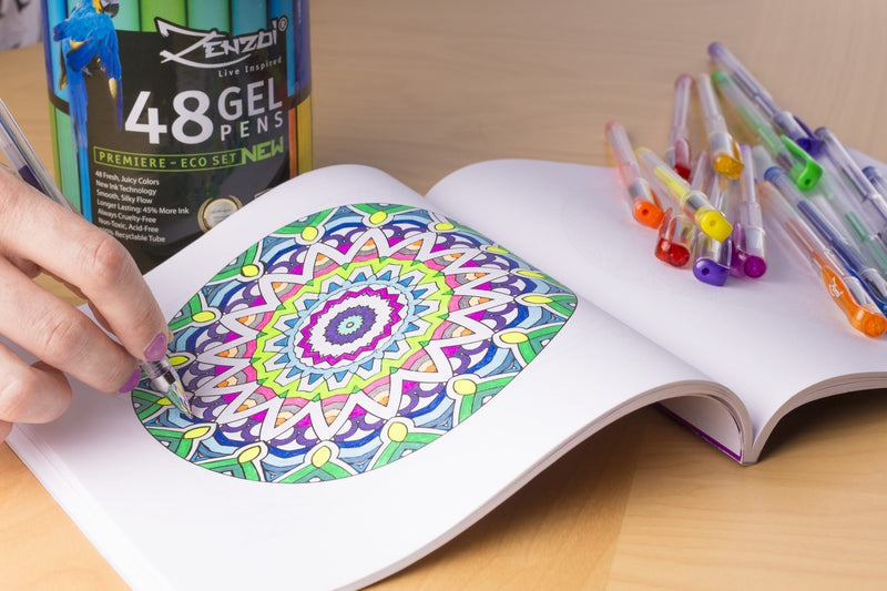 Buy gel pens for coloring