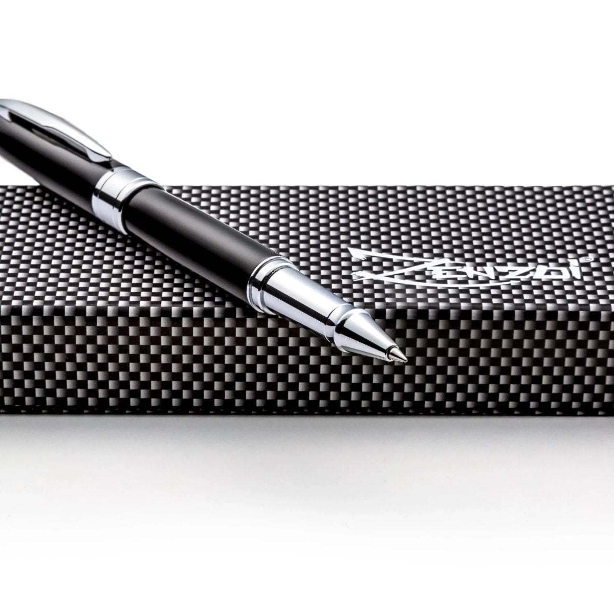 Black Rollerball Pen Set W/ 0.5mm Schneider Ink Refill & Gift Pen Set