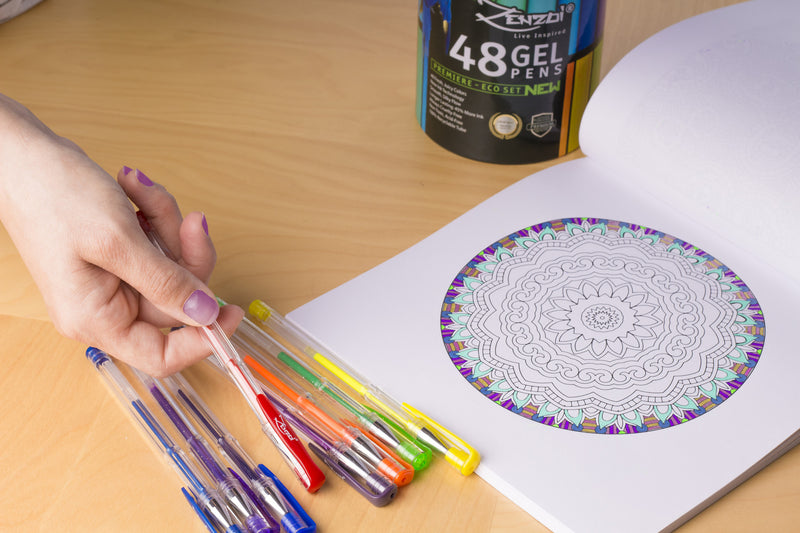 Shop gel pens for coloring