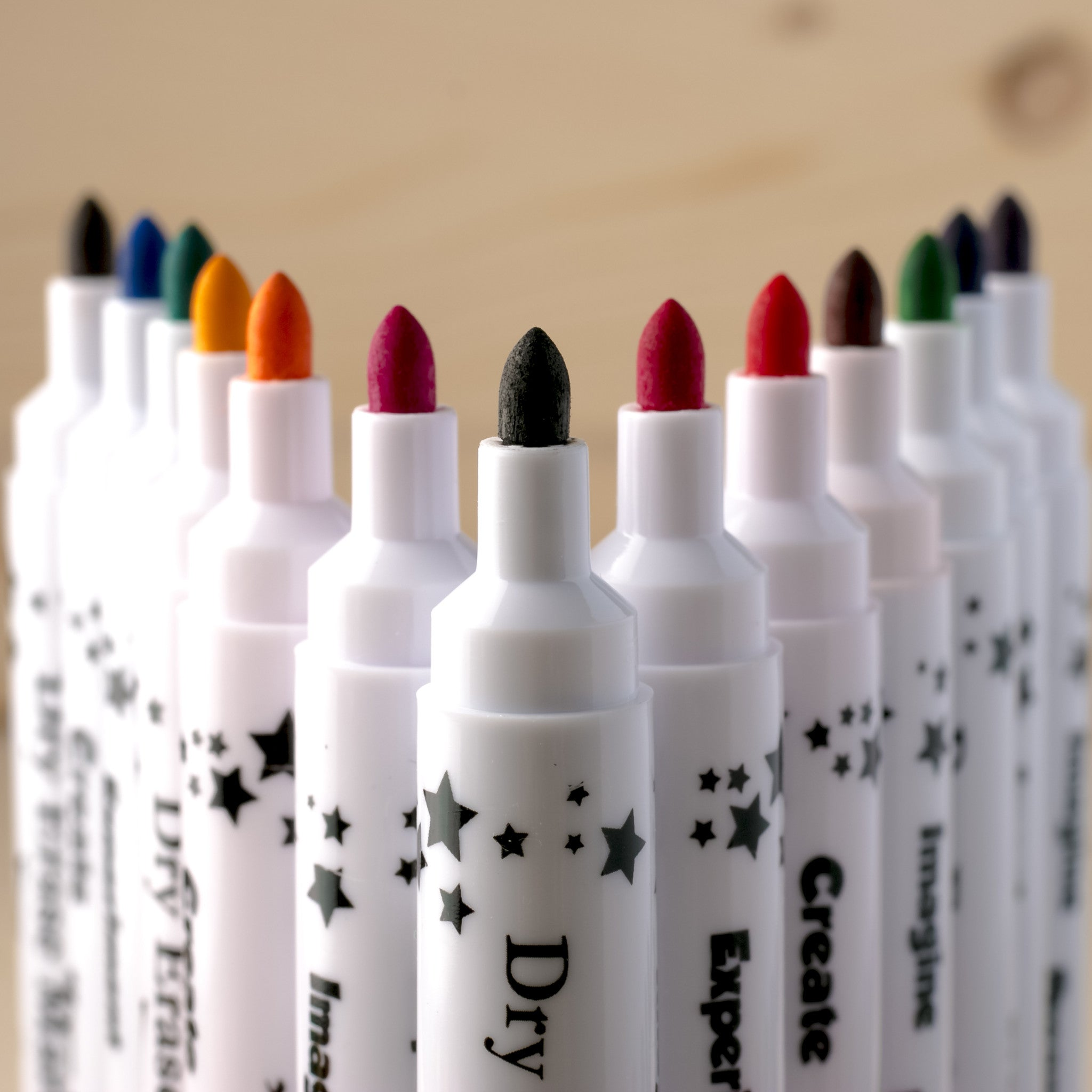 Children's whiteboard markers set