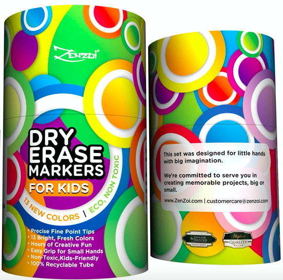 Dry erase markers for kids