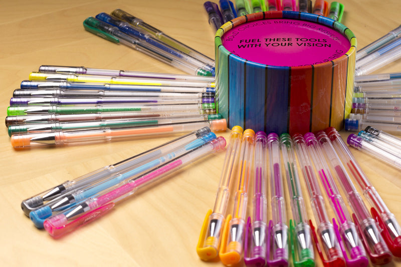 48 Colors gel pens set