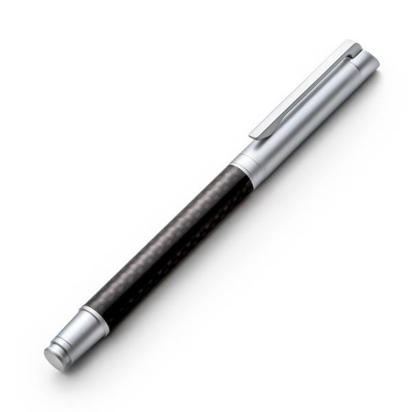 Carbon Fiber Rollerball Pen Set with Schneider Ink Refill - Matte Finish