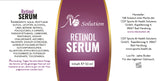 Retinol Vitamin A Serum - Hochdosiert 8% - - NB Solution