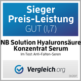 Hyaluronsäure Serum - Anti Aging Serum für das Gesicht - NB Solution