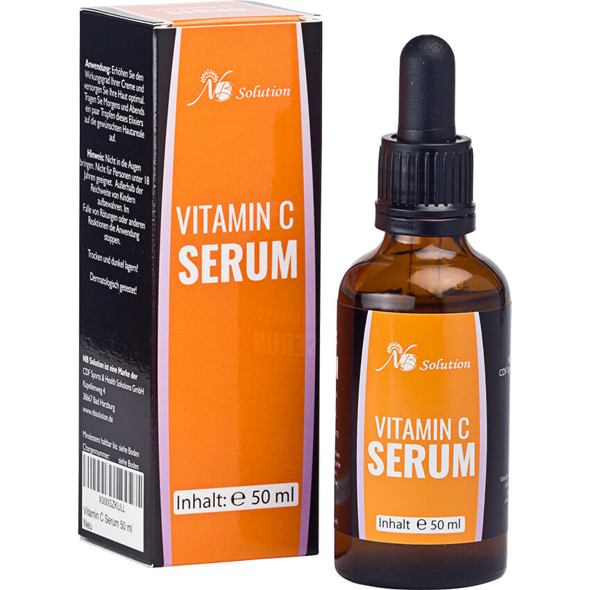 Vitamin C Serum – Natürliches Anti Aging - NB Solution