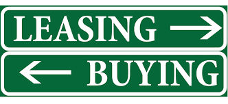 LEASING VS BUYING.